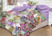 Детское постельное белье Valtery поплин 1,5-спальное 50х70 см арт. DL-6 Сказочные феи