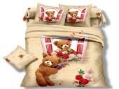 Детское постельное белье Valtery арт. DS-02 сатин 1,5-спальное 50х70 см