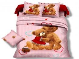 Детское постельное белье Valtery арт. DS-03 сатин 1,5-спальное 50х70 см