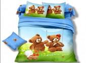 Детское постельное белье Valtery арт. DS-04 сатин 1,5-спальное 50х70 см