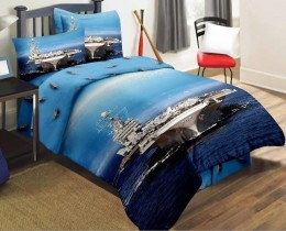 Детское постельное белье Valtery арт. DS-09 сатин 1,5-спальное 50х70 см