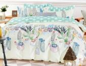 Детское постельное белье Valtery сатин 1,5-спальное 50х70 см арт. DS-57