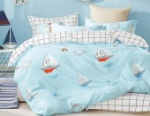 Детское постельное белье Valtery сатин 1,5-спальное 50х70 см арт. DS-60