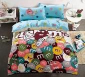 Детское постельное белье Valtery сатин 1,5-спальное 50х70 см арт. DS-65
