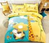 Детское постельное белье Valtery сатин 1,5-спальное 50х70 см арт. DS-67
