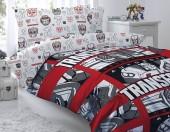 Детское постельное белье Mona Liza бязь 1,5-спальное 50х70 см Transformers DECEPTICONS