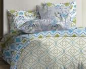 Постельное белье Mona Liza Lagoon ранфорс 2-спальный 70х70 арт.Fall