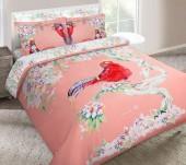 Постельное белье Mona Liza SL сатин 2-спальный 4 наволочки арт.Fazan