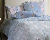 Постельное белье Mona Liza Lagoon ранфорс 1,5-спальный 70х70 арт.Field