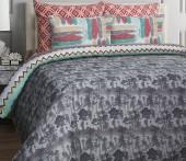 Постельное белье Mona Liza Rubin бязь люкс 2-спальный 50х70 арт.Geometry
