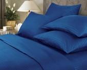 Постельное белье Веросса страйп-сатин Роял Indigo 1,5-спальное 50х70 см