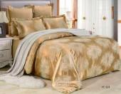 Постельное белье Valtery сатин-жаккард 2-спальное 4 наволочки арт. JC-123