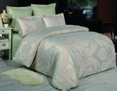 Постельное белье Valtery сатин-жаккард 2-спальное 4 наволочки арт. JC-46