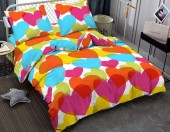 Постельное белье Amore Mio макосатин 1,5-спальное 70х70 см арт.BZ Love