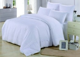 Постельное белье Valtery софткоттон с гипюром 1,5-спальное 70х70 см арт. MG-05