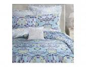 Постельное белье Mona Liza  Premium  MORRISA сатин 2-спальный 4 наволочки арт.Mary violet blue 5044/0046