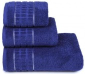 Полотенце махровое Cleanelly Megapolis хлопок 50х90 см цв.Фиолетовый