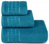 Полотенце махровое Cleanelly Megapolis хлопок 50х90 см цв.Голубой