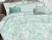 Постельное белье Mona Liza Ceramica Premium сатин 2-спальное 50х70 см арт.52040 Mint