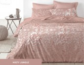 Постельное белье Mona Liza Premium JUNGLE сатин 1,5-спальный 70х70 см арт.5047/0058 MISTY