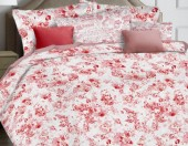 Постельное белье Mona Liza Ceramica Premium сатин 2-спальное 50х70 см арт.52040 Pink