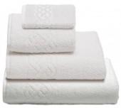 Махровая простыня Cleanelly Plait Белый хлопок 200х220 см