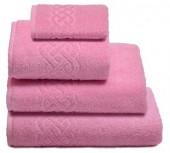 Махровая простыня Cleanelly Plait Розовый хлопок 200х220 см