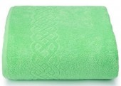 Махровая простыня Cleanelly Plait Салатовый хлопок 150х200 см