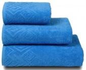 Полотенце махровое Cleanelly Poseidon хлопок 50х90 см цв.Голубой