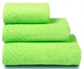 Полотенце махровое Cleanelly Poseidon хлопок 50х90 см цв.Зеленый