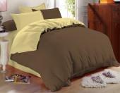Постельное белье Amore Mio сатин однотонный 2-спальное макси 70х70 см арт. BZ Praline