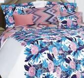 Постельное белье Mona Liza Premium сатин 2-спальный 4 наволочки арт.Protea