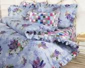 Постельное белье Mona Liza Provence сатин 1,5-спальный 70х70 см арт.Lavender 5747/3