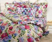 Постельное белье Mona Liza Provence сатин 1,5-спальный 70х70 см арт.Rose