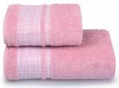 Полотенце махровое Cleanelly Ragnatela хлопок 70х130 см цв.Розовый