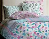 Постельное белье Mona Liza Lagoon ранфорс 2-спальный 70х70 арт.Reef