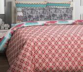 Постельное белье Mona Liza Korall бязь люкс 2-спальный 50х70 арт.Romb