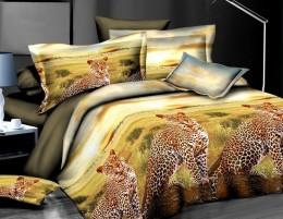 Постельное белье Valtery полисатин 3D 2-спальное 70х70 см арт. SF-01