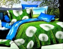 Постельное белье Valtery полисатин 3D 2-спальное 70х70 см арт. SF-08