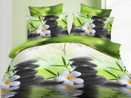 Постельное белье Valtery полисатин 3D 2-спальное 70х70 см арт. SF-10