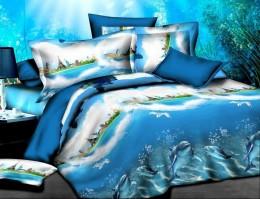 Постельное белье Valtery полисатин 3D 2-спальное 70х70 см арт. SF-11