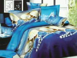 Постельное белье Valtery полисатин 3D 2-спальное 70х70 см арт. SF-22