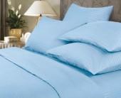 Постельное белье Веросса страйп-сатин Роял Sky  2-спальное 70х70 см