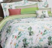 Постельное белье Mona Liza Premium сатин 2-спальный 4 наволочки арт.Summer