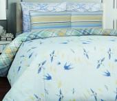 Постельное белье Mona Liza Kent бязь люкс 1,5-спальный 70х70 арт.Swallows