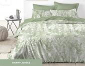 Постельное белье Mona Liza Premium JUNGLE сатин 1,5-спальный 70х70 см арт.5047/0060 SWAMP