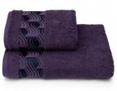 Полотенце махровое Cleanelly Tempesta Фиолетовый хлопок 50х90 см