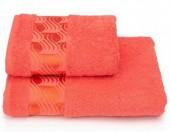 Полотенце махровое Cleanelly Tempesta Коралловый хлопок 50х90 см