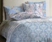 Постельное белье Mona Liza Lagoon ранфорс 1,5-спальный 70х70 арт.Tide