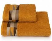 Полотенце махровое Cleanelly Triangoli Горчичный хлопок 50х90 см